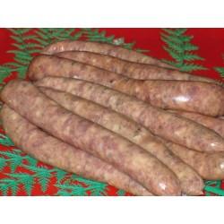 Mushroom & Garlic Thin Beef Sausages